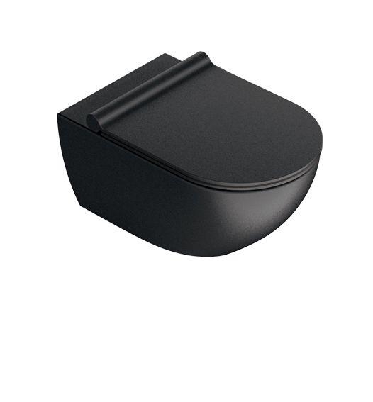 Унитаз подвесной Catalano Sfera 1VSF54RNS черный матовый