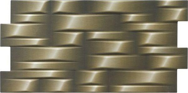 Плитка El Molino Дінамік 3D Джет Метал 33,3x66,6
