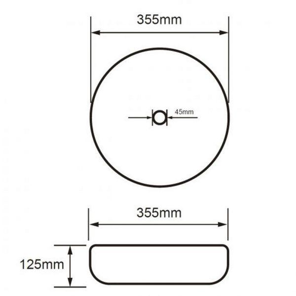 Раковина Volle (13-01M-040)